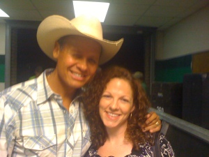 Neal McCoy and me backstage