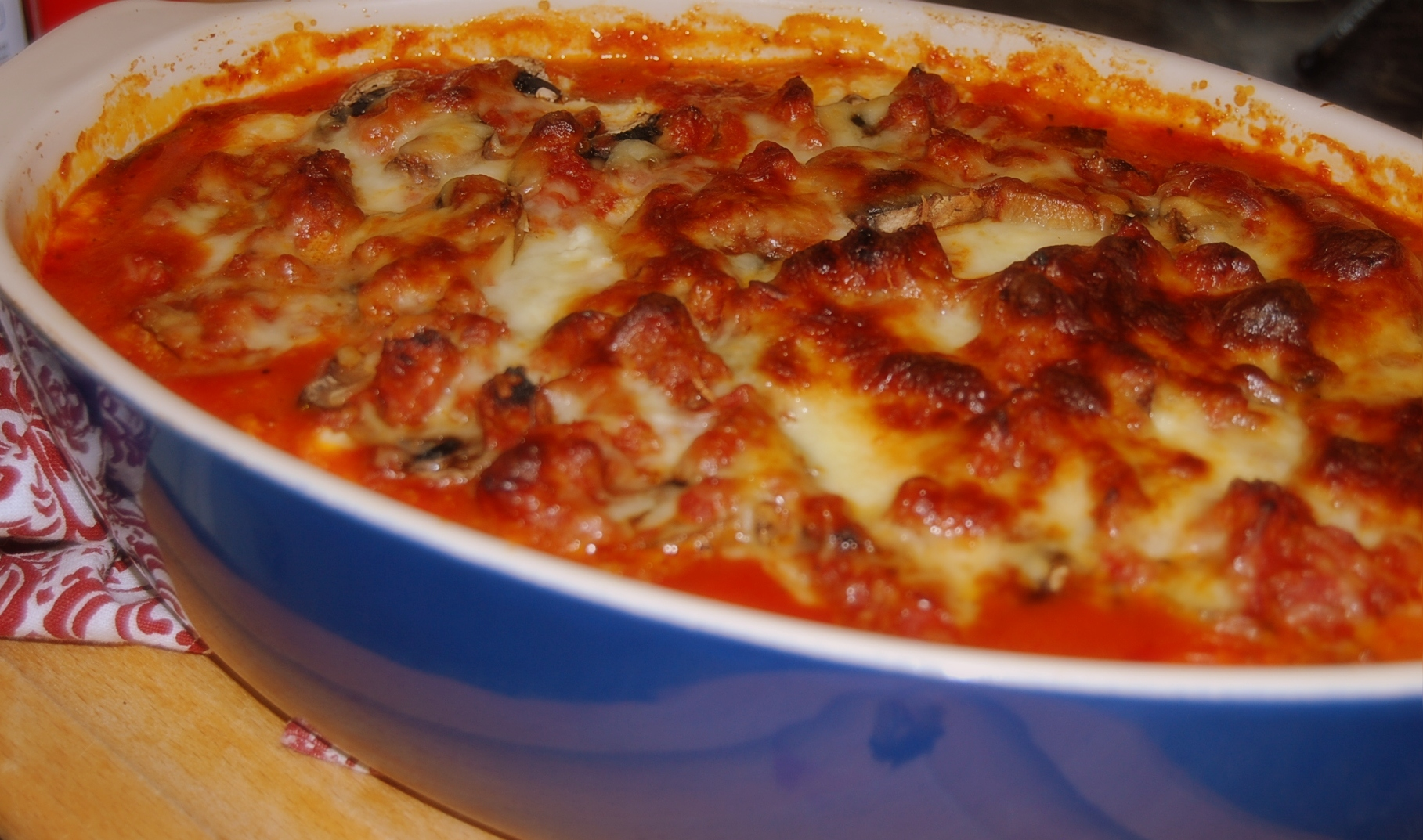 Healthy Eggplant Lasagna With Meat