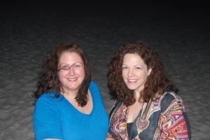 Sherrin and me on Pensacola Beach