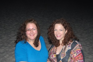 Sherrin and me on Pensacola Beach