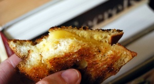 Mama Steph's grown-up grilled cheese