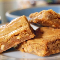MamaSteph's Outrageously Great Peanut Butter Blondie Bars