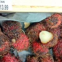What Does One Do With All Those Exotic Fruits In The Produce Department? Today: Rambutan