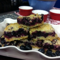 Berry Week Recipes: Day 1~Blueberry Crumb Bars