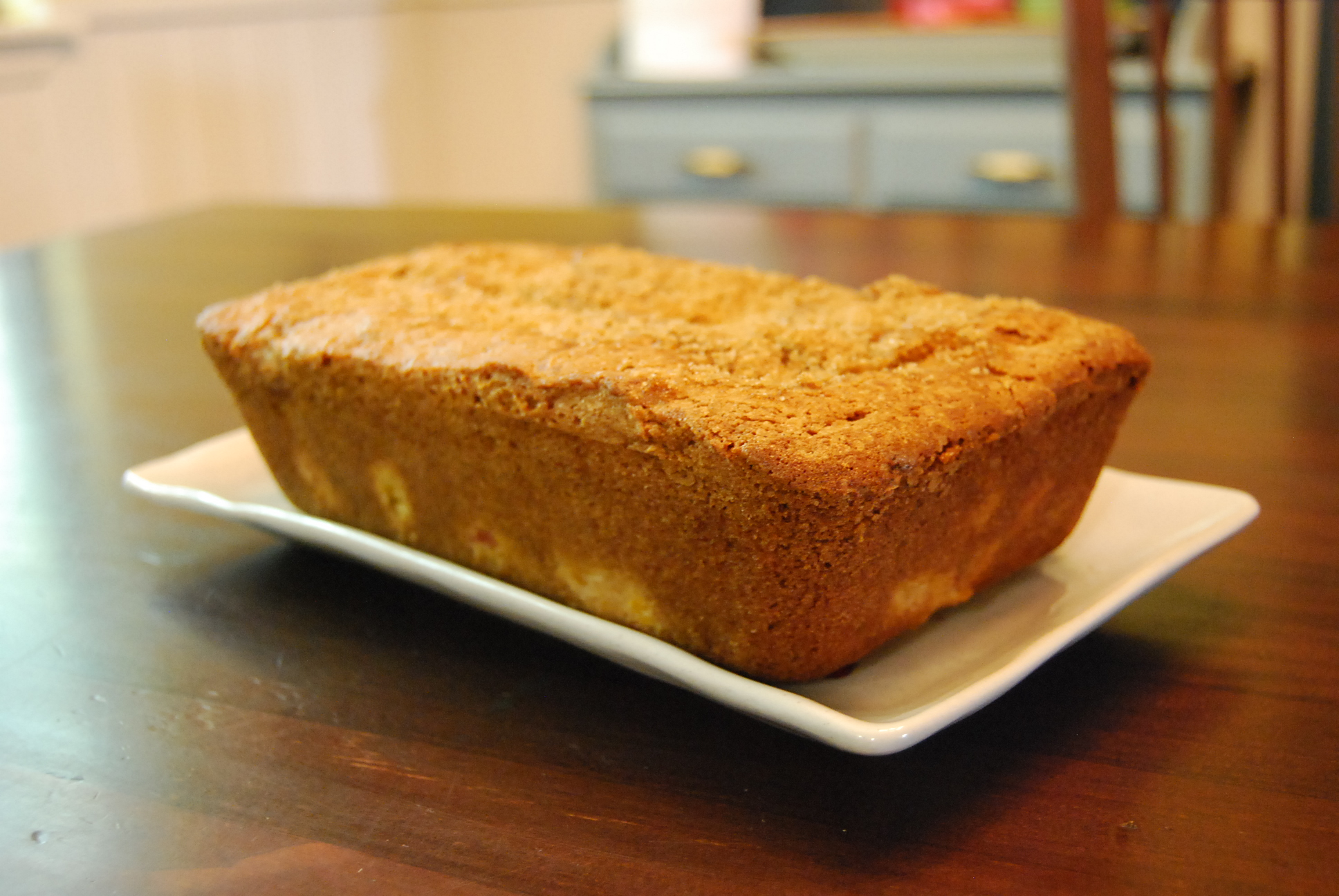 Vintage Peach Bread for Your Vintage Dad   In Mama Steph's ...
