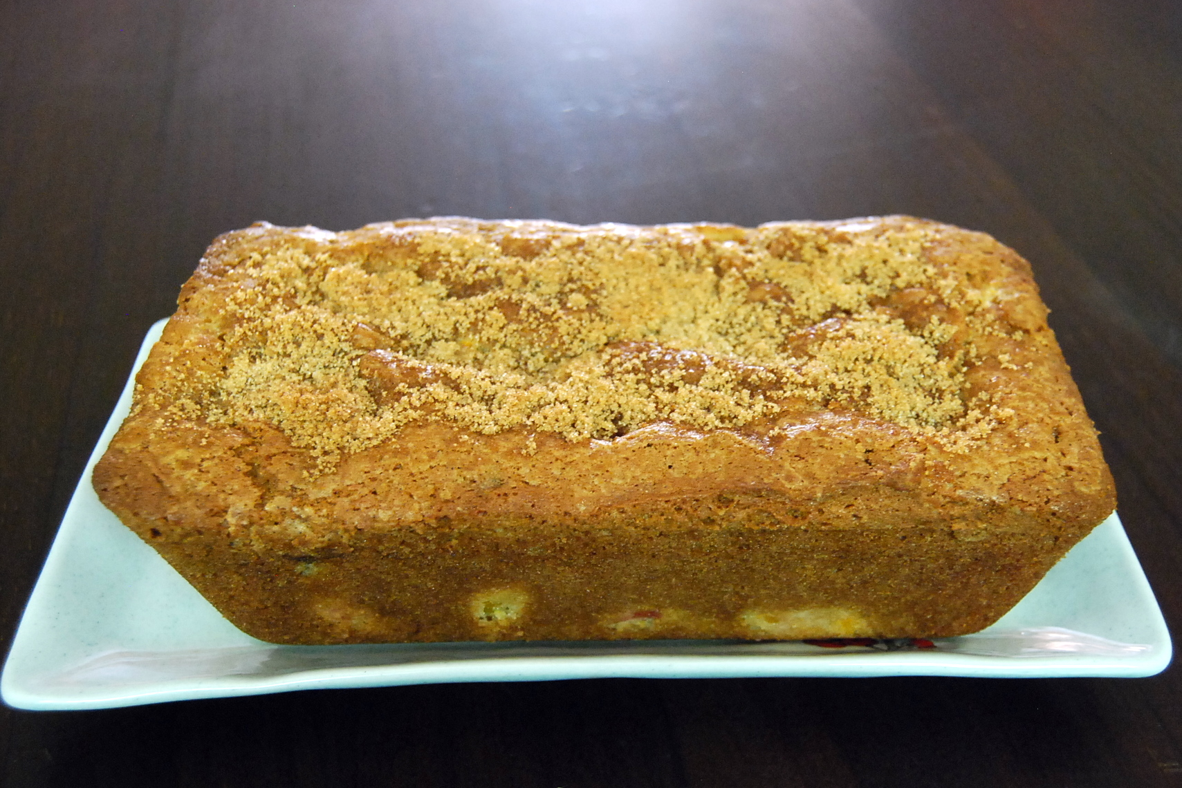 Vintage Peach Bread for Your Vintage Dad | In Mama Steph's Kitchen
