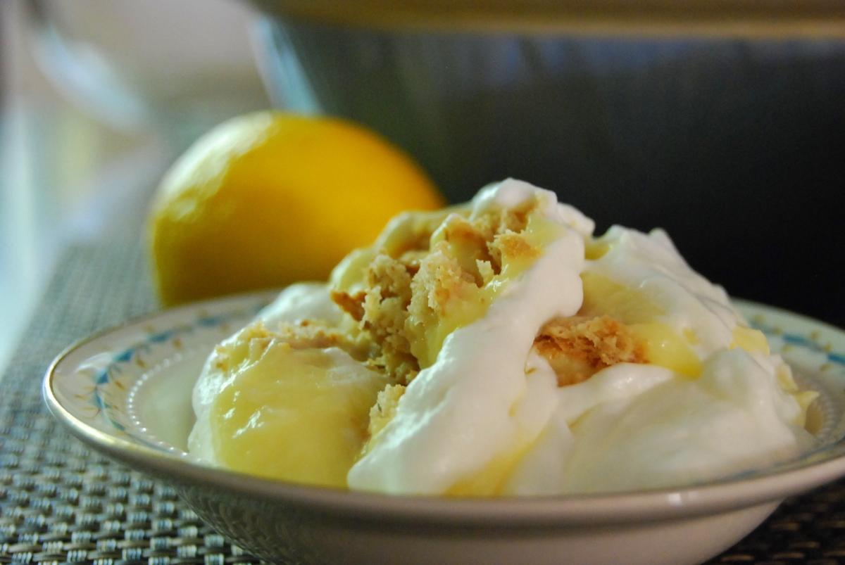 Grandma Is That You Lemon Icebox Dessert In Mama