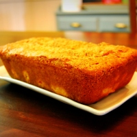 Mama Steph's banana-peach breakfast bread