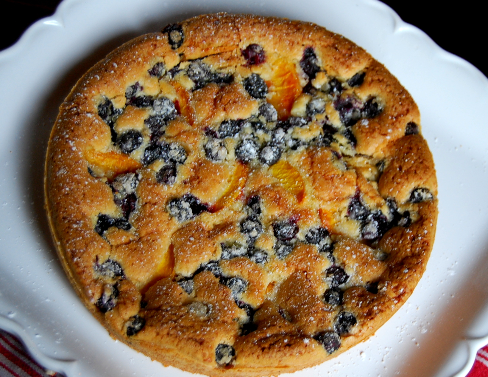 ... in this perfect blueberry muffin recipe; click this link to see it