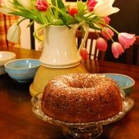 Mama Steph's sour cream-chocolate chip pound cake
