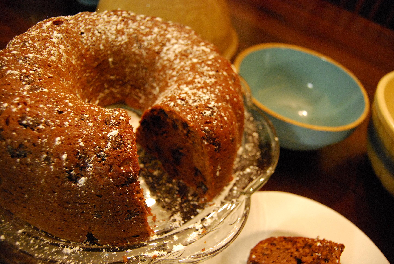 Chocolate Chip Pound Cake Made With Cake Mix