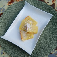 Tangy Springtime Lemon Squares