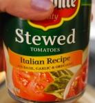 stewed Italian tomatoes