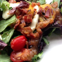 The grilled peach salad of my dreams
