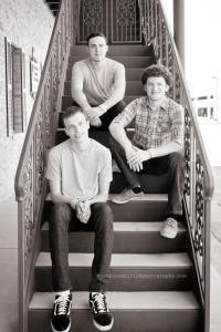 justin jacob and jared on stairs by jessie whittle