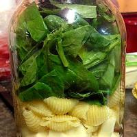 Mason Jar love:  Simple layered salads & other fun ideas