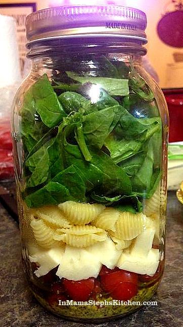 Mama Steph's Mason Jar salad