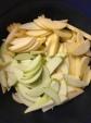 Crisp apple slices