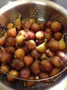 Fresh Figs In Mama Steph's Kitchen