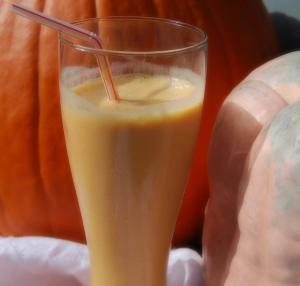 Mama Steph's pumpkin smoothie
