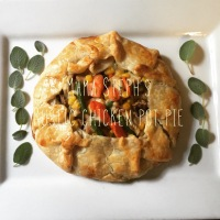 Sunday Supper: Rustic chicken pot pie
