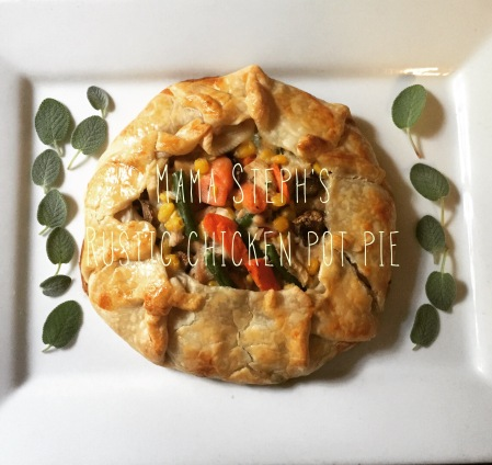 In Mama Steph's Kitchen: Rustic chicken pot pie