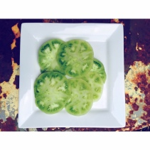 Mama Steph's sliced green tomatoes