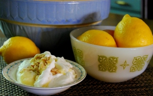 mama steph's lemon icebox dessert