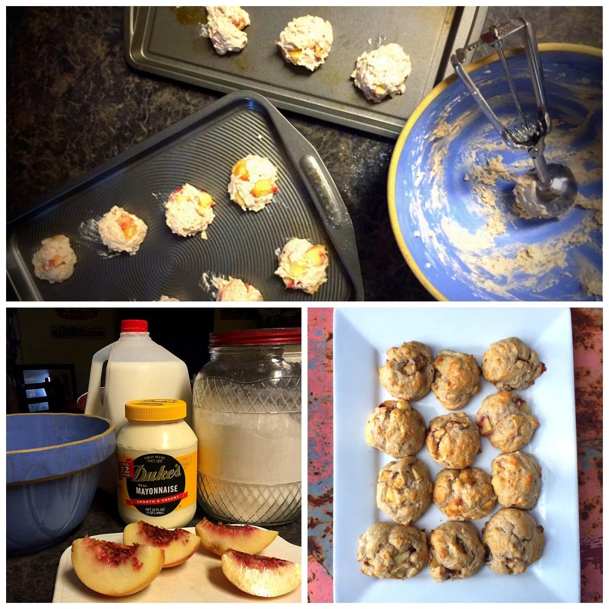 Folks Southern Kitchen: 4-ingredient Cinnamon-peach Biscuits