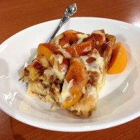 Sweet Southern Mornings: Peaches and Cream French Toast Casserole